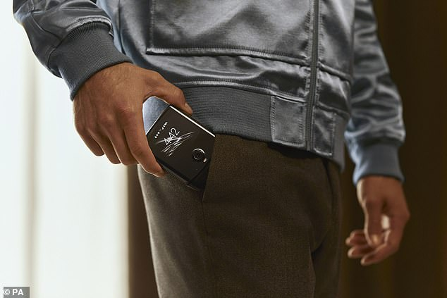 When closed, Motorola said the new Razr also has a 2.7-inch Quick View Display on which users can view and respond to notifications
