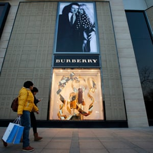 A Burberry store in Beijing
