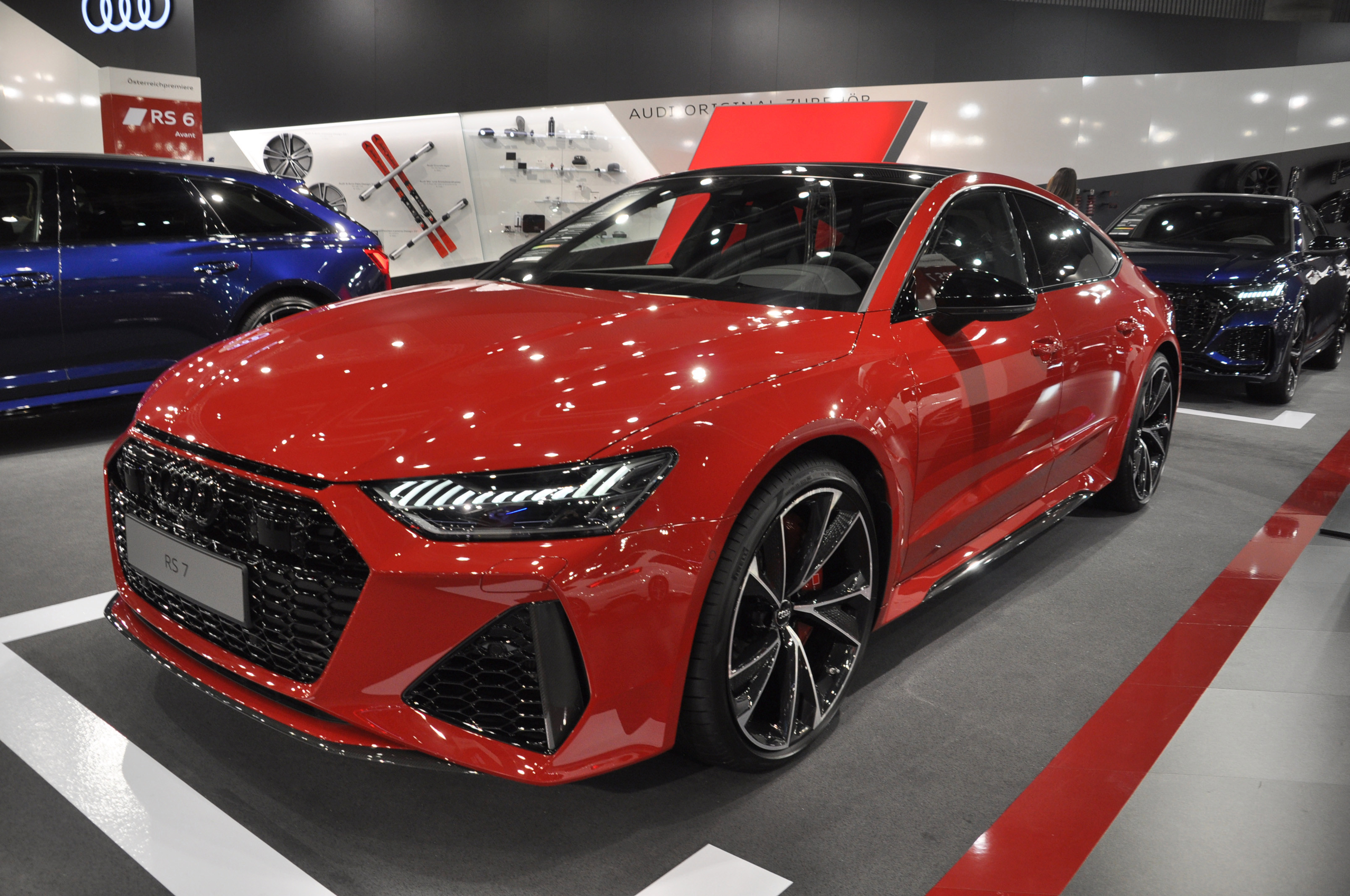 The RS7 has six individual drive-profile modes for everything from all-wheel steering to Quattro sport differential