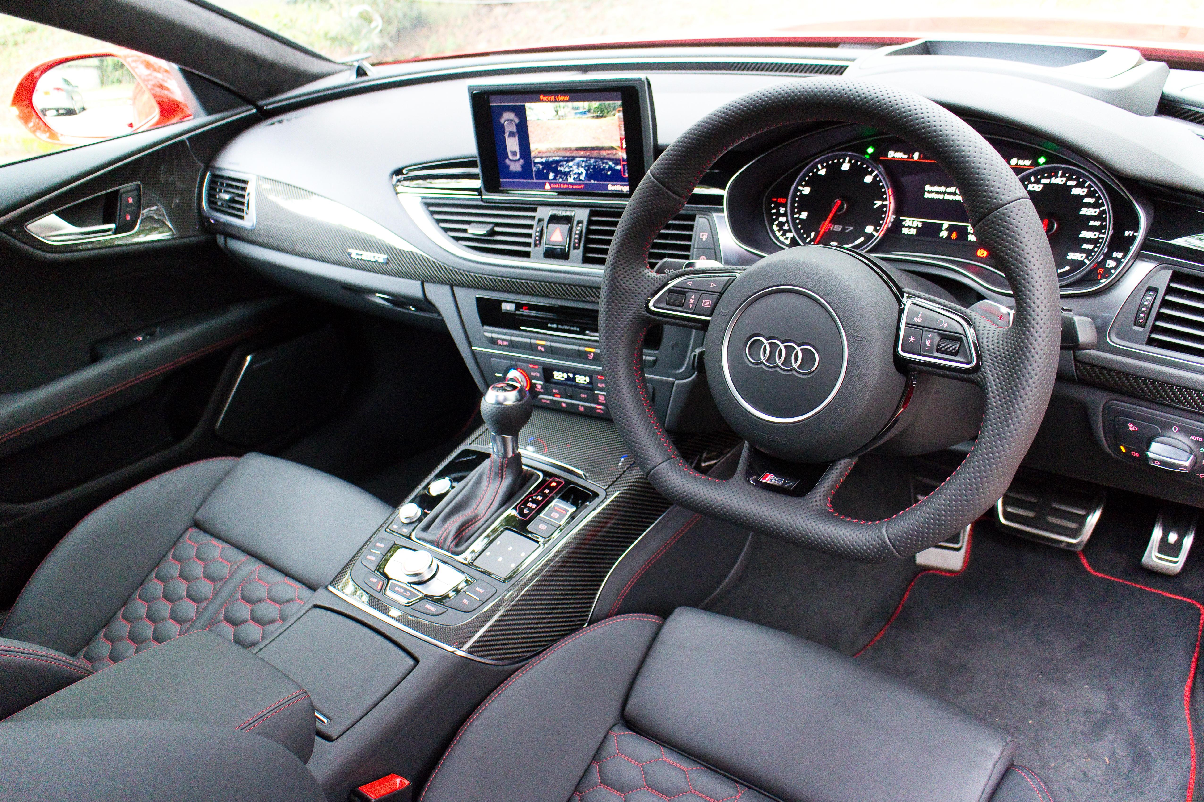 Like all Audis today the interior is as classy as it comes