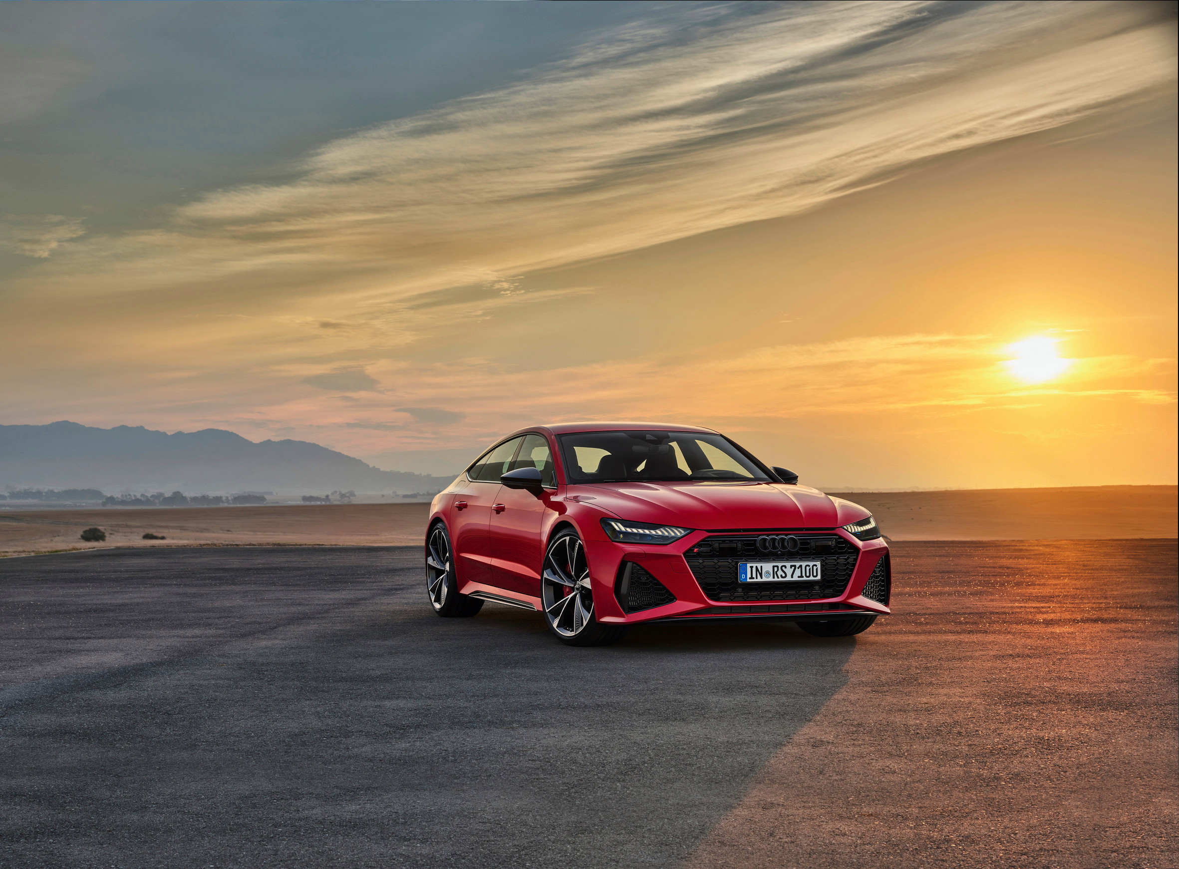 Audi's RS7 is a powerful, practical, pseudo-coupe which packs a punch with a 4-litre twin turbo V8 engine and stunning looks