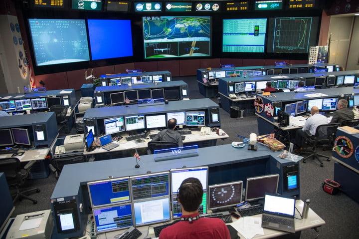 Johnson Space Center's Mission Control Center